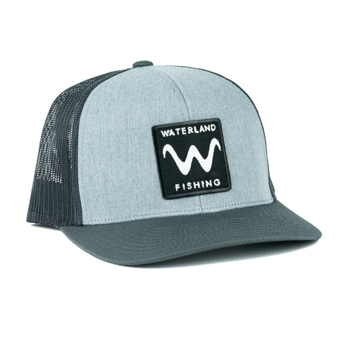 Shady Wave SnapBack - Heather Gray/Charcoal
