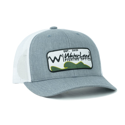 Angler SnapBack - Heather Gray/White