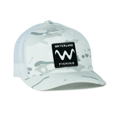 Shady Wave SnapBack - Camo White