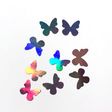 Load image into Gallery viewer, LARGE HOLO BUTTERFLIES (2 STYLES)