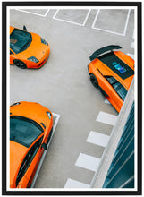 Load image into Gallery viewer, Lamborghini threesome poster detail 1 th