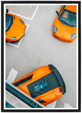 Load image into Gallery viewer, Lamborghini threesome poster detail 2 th