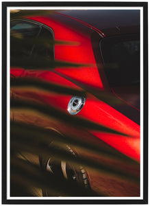 Dodge Challenger RT detail poster TH