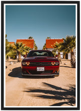 Load image into Gallery viewer, Dodge Challenger front poster th