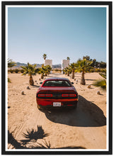 Afbeelding in Gallery-weergave laden, Dodge Challenger rear poster th