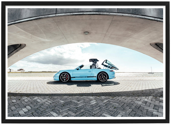 Porsche 911 Targa Exclusive Edition side poster th