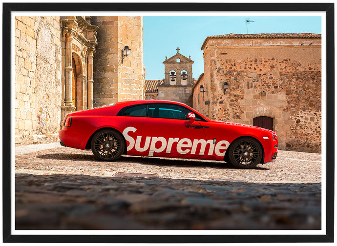 Rolls Royce Wraith Supreme New York Poster TH