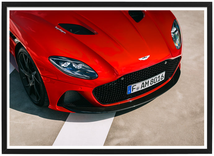 Aston Martin DBS Superleggera detail poster TH