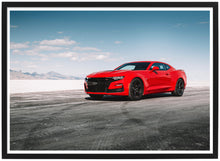 Load image into Gallery viewer, Chevrolet Camaro SS side poster th