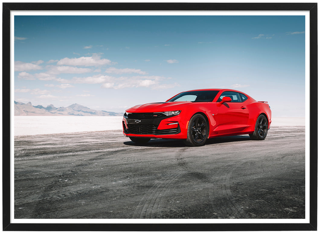 Chevrolet Camaro SS side poster th