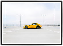 Afbeelding in Gallery-weergave laden, Mercedes AMG GTS side poster th