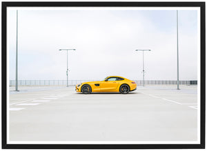 Mercedes AMG GTS side poster th
