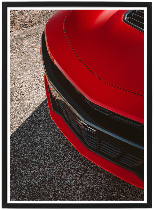 Chevrolet Camaro SS detail poster th