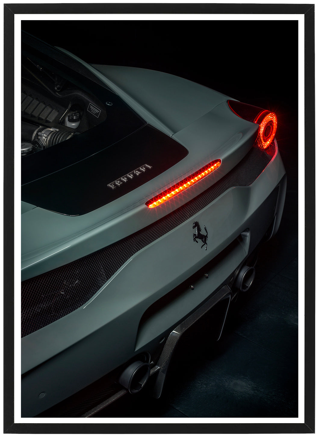 Ferrari 458 Speciale rear poster th