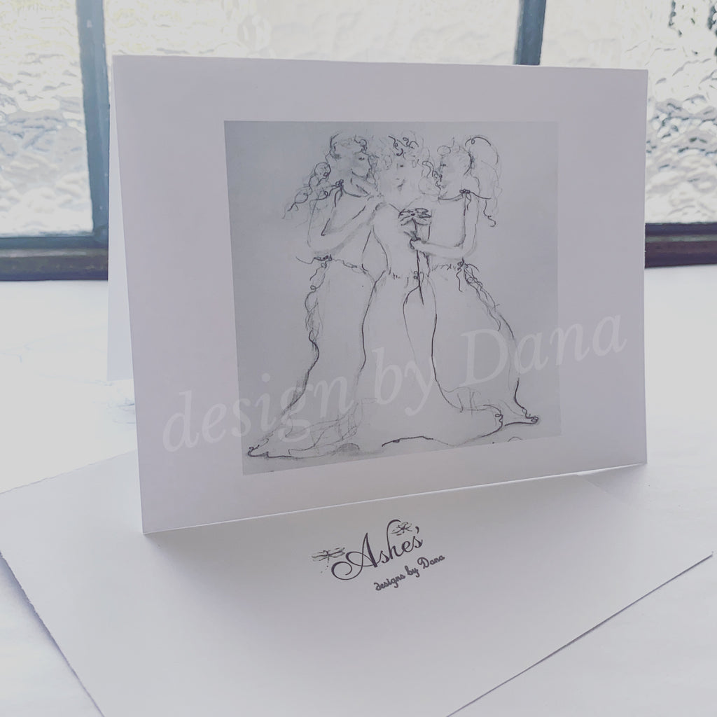 3 Ladies Notecards