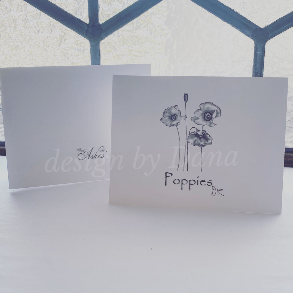 Poppies Notecards