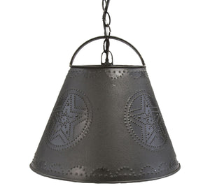 Star Punch Shade Pendant Light