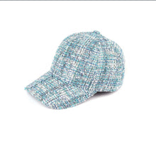 Load image into Gallery viewer, Tweed Knit CC Ball Cap