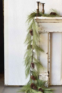Long Needle Pine Rope Garland