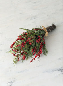 Pine and Berries Bouquet