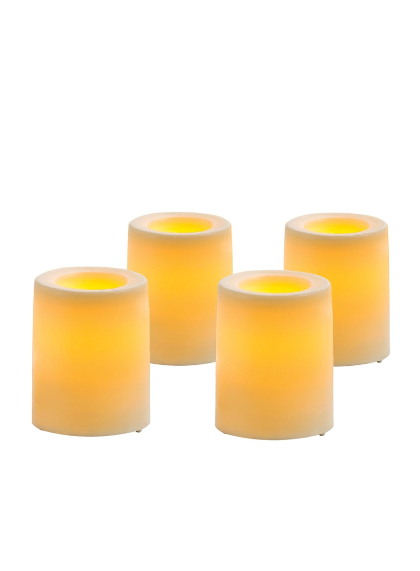 Votive w/ Timer Set of 4