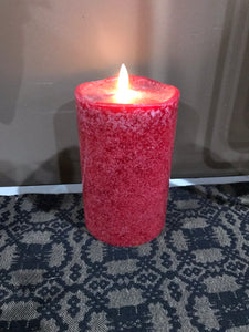 Flameless Battery-Operated Pillar Candle