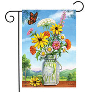 Sunshine Garden Bouquet Garden Flag