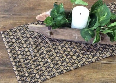"Cross Buck Weave 52"" Table Square"