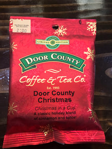 Door County Coffee 1.5 oz Pack of Door County Christmas