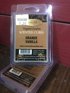 Crossroads Orange Vanilla Scented Cubes