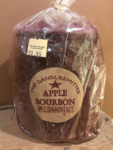 Apple Bourbon Grubby Candle