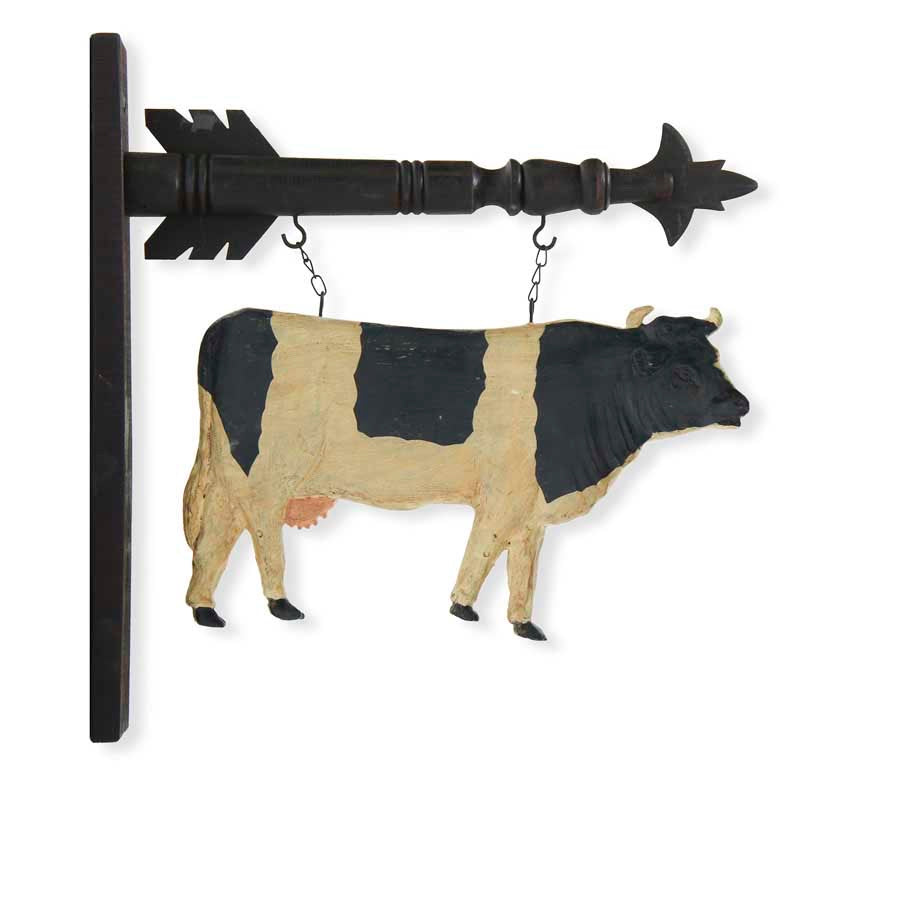 Black and White Cow Arrow Replacement