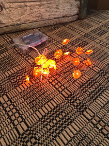 Pumpkin LED Drop Lights