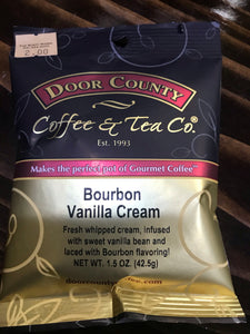 Door County 1.5 oz Pack of Bourbon Vanilla cream