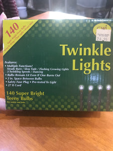 Twinkle Light Strand w/ Multiple Functions