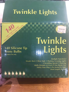 Twinkle Silicone Light Strand w/ Multiple Functions