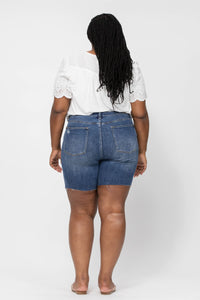 Judy Blue High Waist Mid-Thigh Shorts