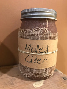 Mulled Cider 16 oz Jar Candle