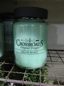 Crossroads Melon Burst 26 oz Jar Candle