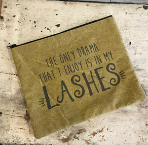 Drama Lashes Make Up Bag