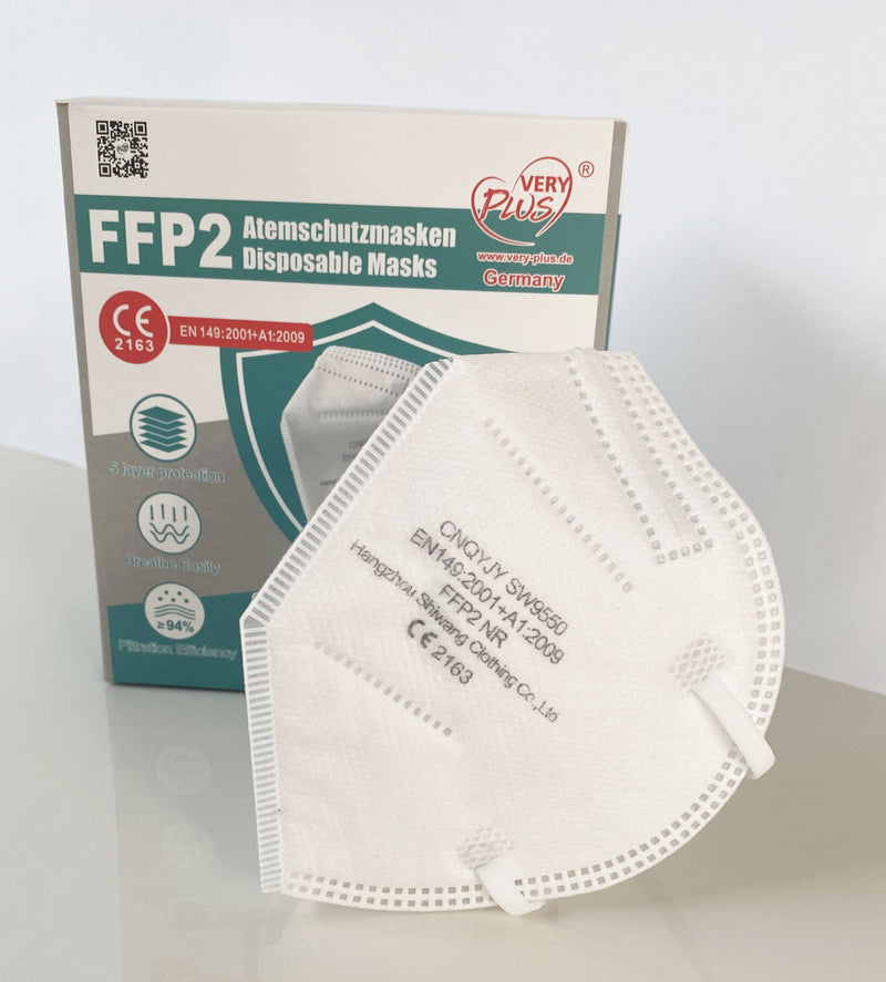 Respirator mask FFP2 without valve
