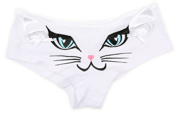 CAT FACE PANTIES