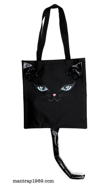 CAT FACE TOTE