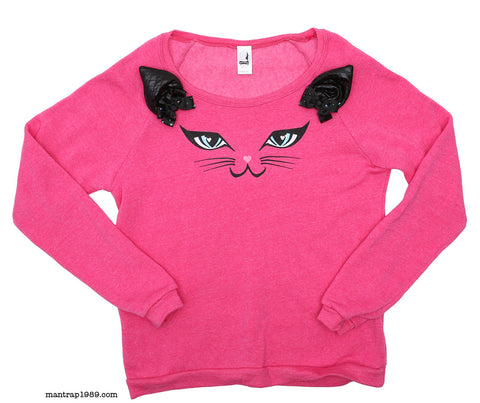 CAT FACE SWEATSHIRT