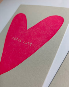 Lotta Love Postcard #035 - NEW!
