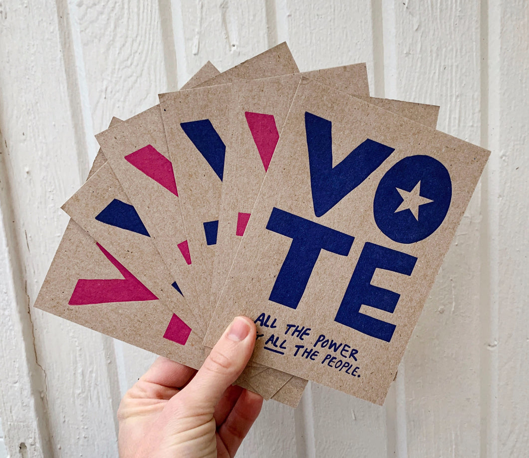 Vote Postcard - 6pack