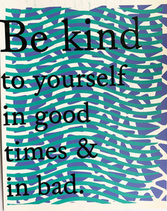 Kind Art Print by the Wilkinsburg Youth Project