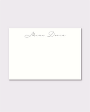 Load image into Gallery viewer, Custom notecards - Mina Style, 50 pack