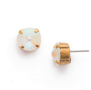 Rocky Beach Round Crystal Stud Earring - Sorrelli Essentials