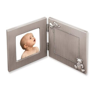 Pewter Finished Baby Photo Frame
